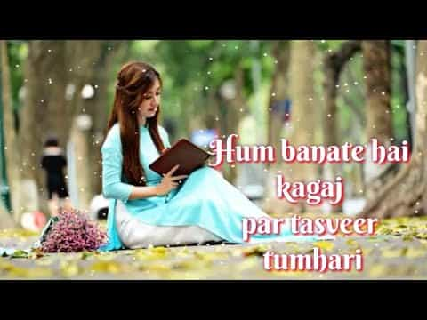 two line dard shayari hindi